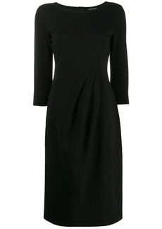 Armani stretch knit dress