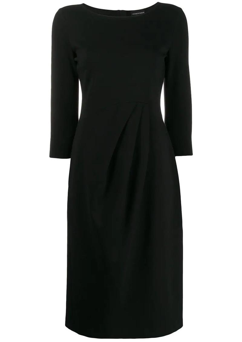 Armani stretch knit dress
