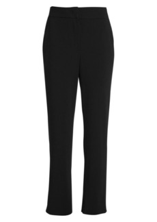 Armani Stretch Wool-Blend Crepe Trousers