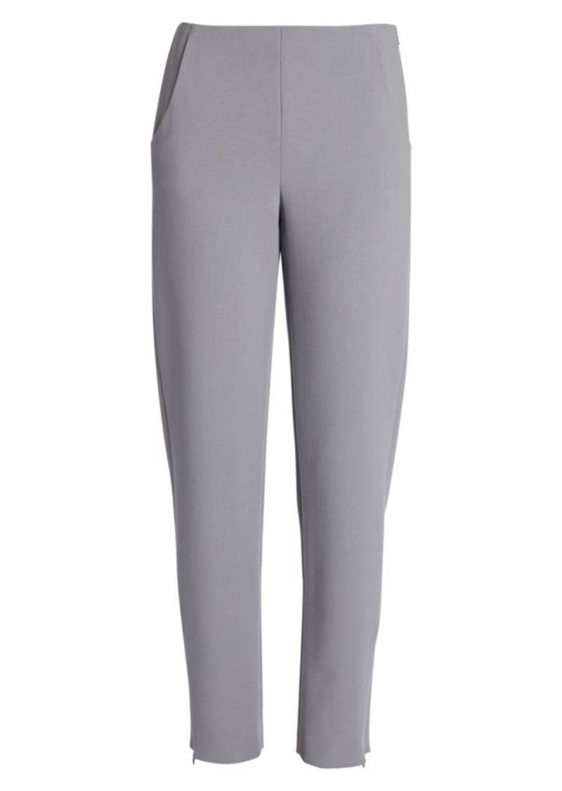 Armani Stretch Wool-Blend Pants
