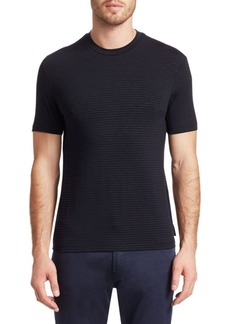 Armani Stripe Cotton Tee