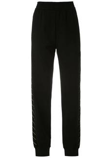 Armani stripe detail trousers
