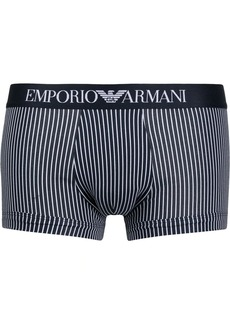 Armani striped logo briefs