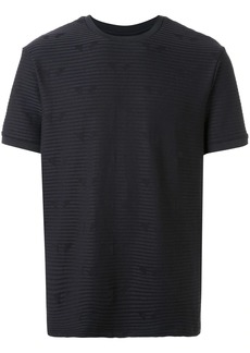 Armani striped pattern T-shirt