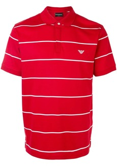 Armani striped polo shirt