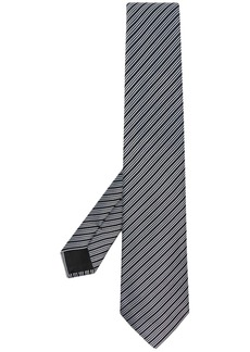 Armani striped silk tie