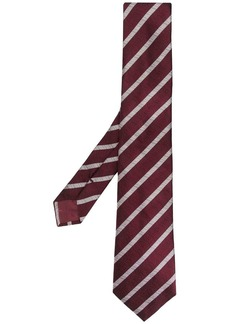 Armani striped tie
