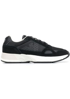 Armani structured sneakers