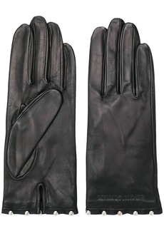 Armani stud-embellished gloves