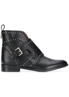 Armani studded ankle boots