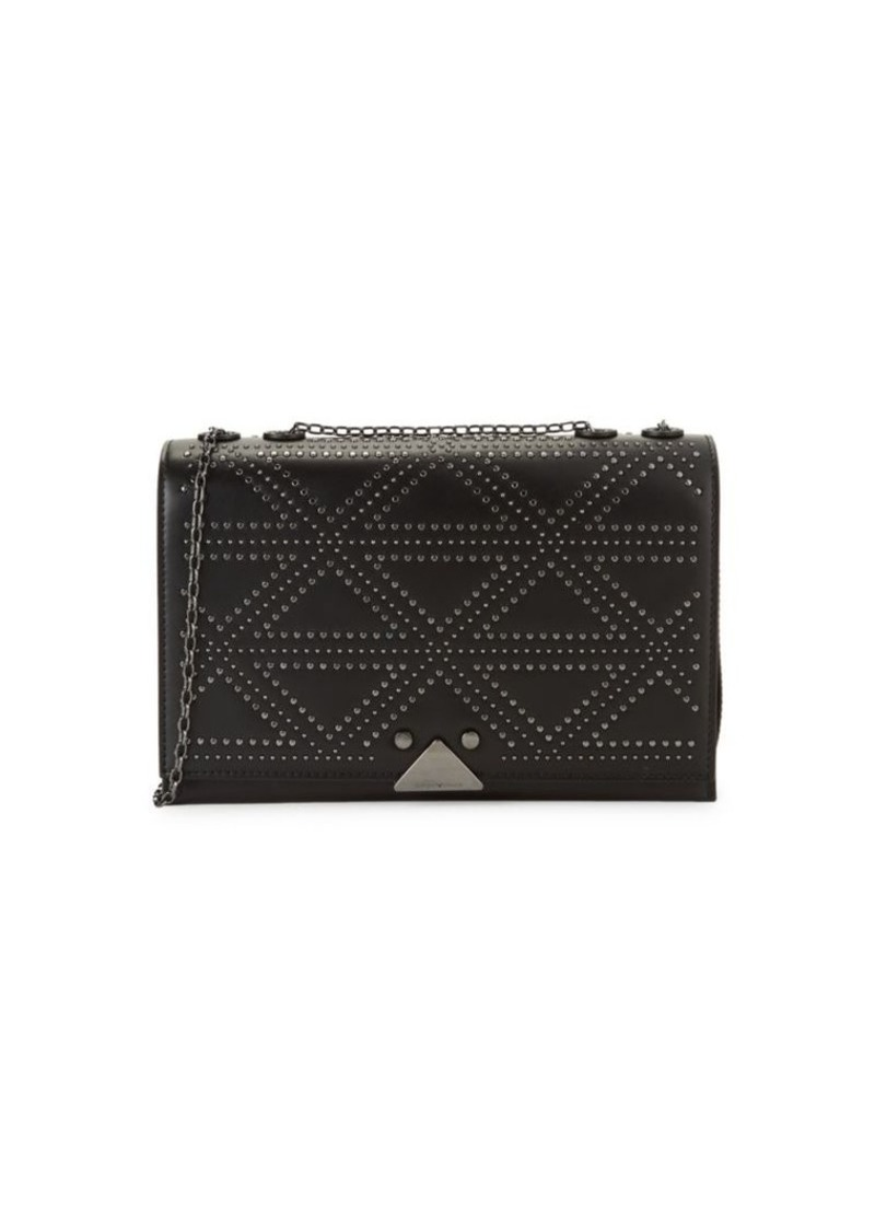 Armani Studded Leather Crossbody