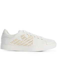 Armani studded logo sneakers