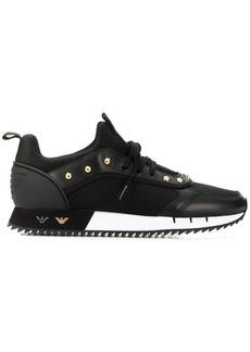 Armani studded sneakers