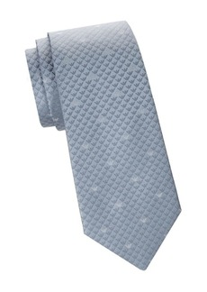 Armani Subtle Print Silk Tie