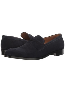 Armani Suede Penny Loafer