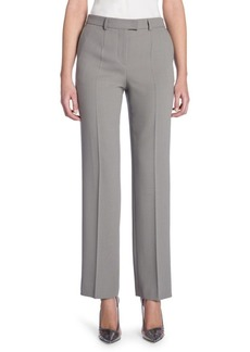 Armani Tab Front Wool Pants