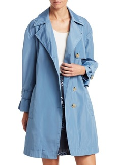 Armani Taffeta Trench Coat