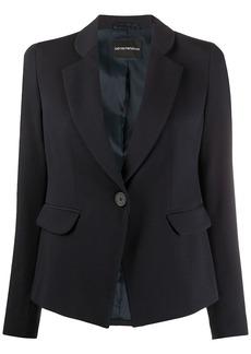 Armani tailored single-breasted blazer