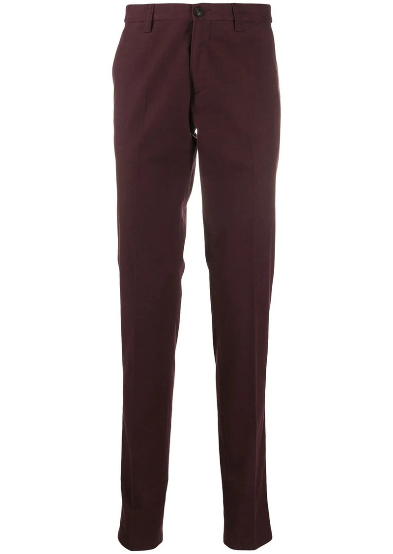 Armani tailored straight leg trousers