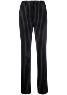 Armani tailored stripe print trousers