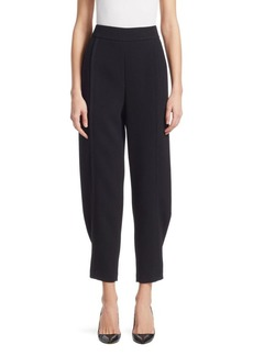 Armani Tapered Leg Back Zip Pants