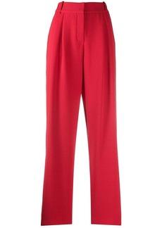 Armani tapered pleat trousers