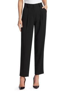 Armani Tech Cady Hi-Rise Trousers