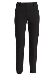 Armani Techno Cady Stretch Flat Front Pants