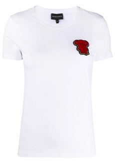 Armani Teddy Bear-patch T-shirt