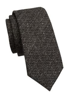 Armani Textured Bi-Color Silk Tie