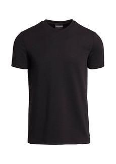Armani Textured Jersey T-Shirt
