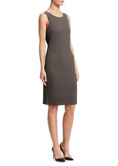 Armani Textured Jersey Tank Dress