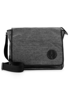 Armani Textured Messenger Bag