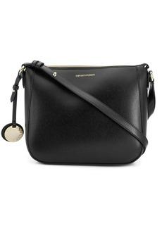Armani textured shoulder bag