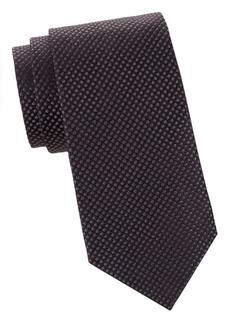 Armani Textured Silk Tie