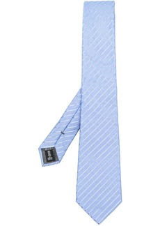 Armani textured stripe tie