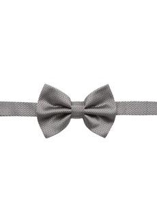 Armani Texutred Silk Bow Tie