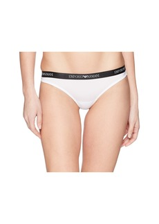 Armani Thong with Branded Waistband