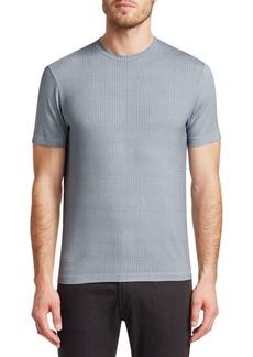 Armani Tile Print Crew T-Shirt