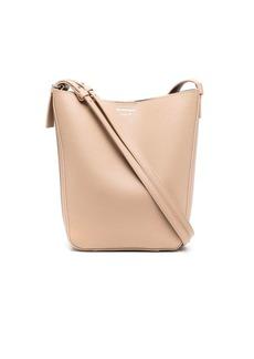 Armani tonal double-strap bucket bag