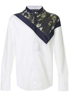 Armani top printed shirt