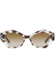 Armani tortoiseshell-effect cat-eye frame sunglasses
