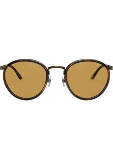 Armani tortoiseshell framed glasses