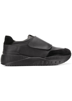 Armani touch strap sneakers