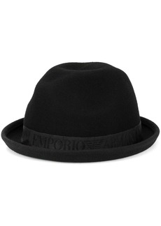 Armani turned-up brim hat