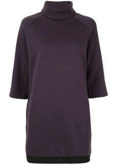 Armani turtle-neck sweater dress