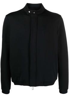 Armani twill bomber jacket
