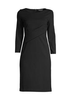 Armani Twist-Neck Dress