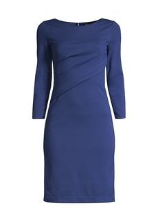 Armani Twist Neck Viscose-Blend Dress