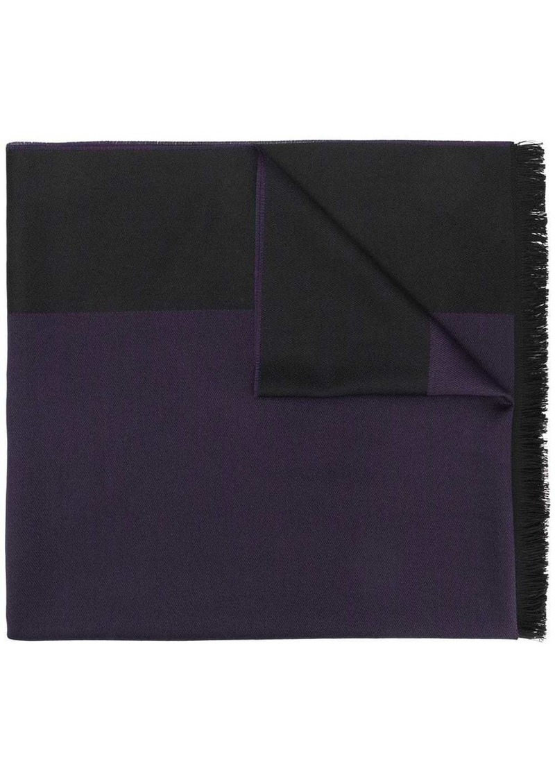 Armani two-tone scarf